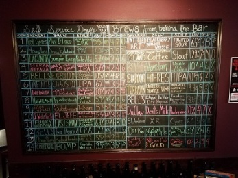 7th Hill Beer Board