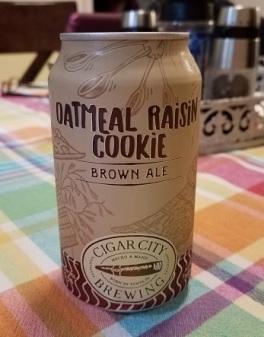 CC Oatmeal Raisin Cookie