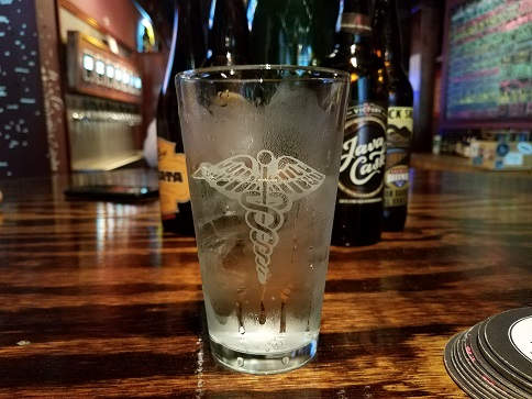 Medical Glass with Sprite