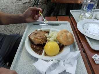 Day4-AugustinerBiergarten-PorkKnudle